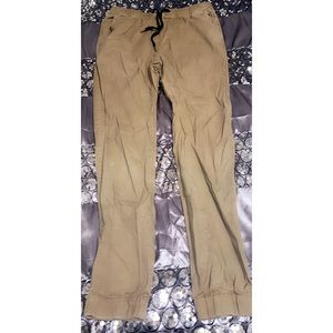 Fitted skinny legged joggers